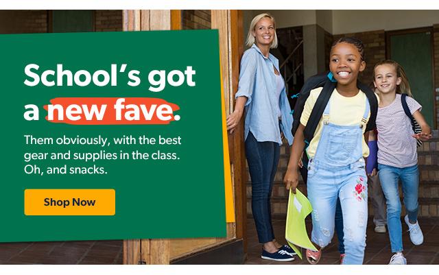 School's got a new fave. Shop Now.